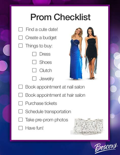 8 Tips On Preparing For Prom by 25 Best Ideas About Prom Checklist On Prom