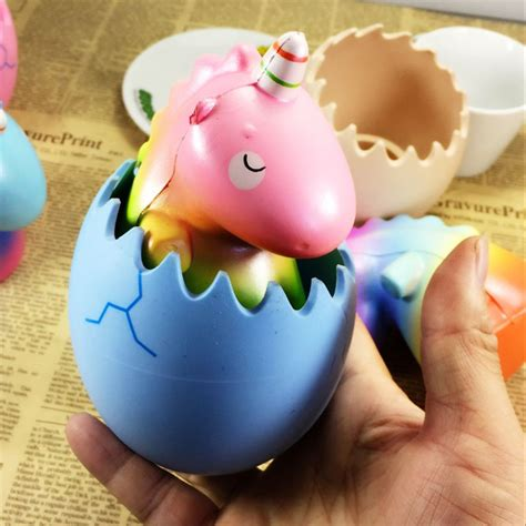 Squishy Licensed Eric Pet Unicorn Original eric squishy unicorn pet dinosaur egg rising