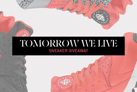Sneaker Giveaway 2015 - kb tomorrow we live sneaker giveaway reach records