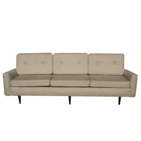 horsehair sofa midcentury retro style modern architectural vintage