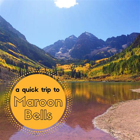 Maroon The Things a trip to maroon bells just j