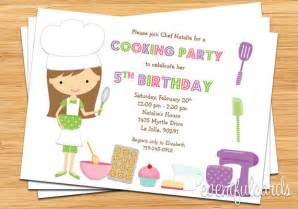 baking birthday invitation printable by eventfulcards