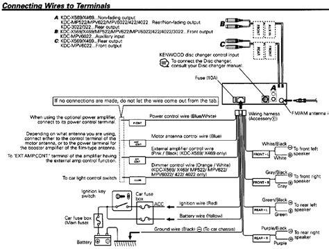 ch amp install kenwood mpv deck