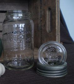vintage crown glass inserts canning jar lids canada