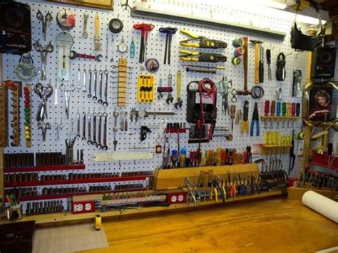 workshop tool layout 34 practical and comfortable garage organization ideas