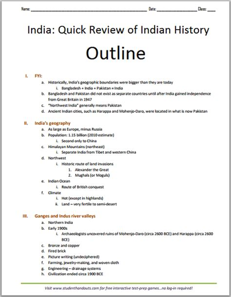 History Course Outline by Click Here To Print Pdf File