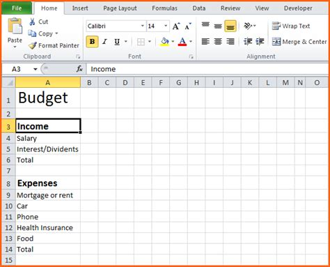easy excel budget template free business budget worksheet template wallpaper