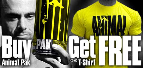 supplement t shirts for free animal pak free iconic t shirt supplement reviews