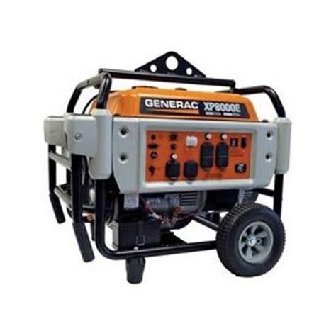 generac xp8000e 10kw portable generator complaints and