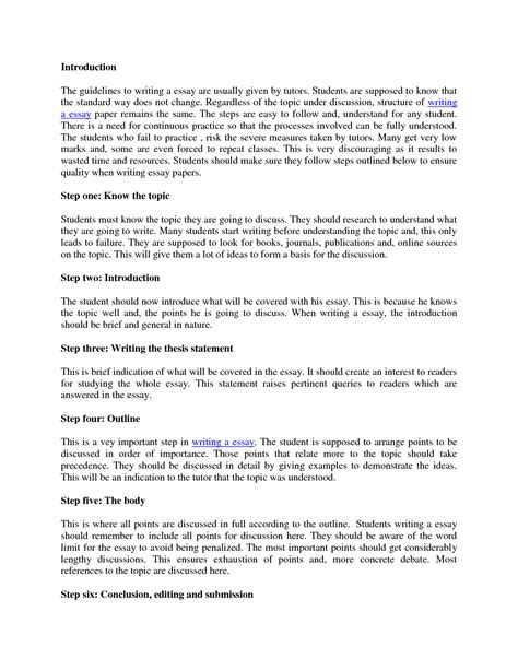 How To Write An Essay Intro by Cover Letter Introduction Of An Essay Sle Resume Daily