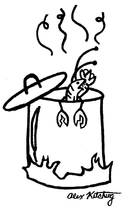boiling water coloring page how to draw water pot