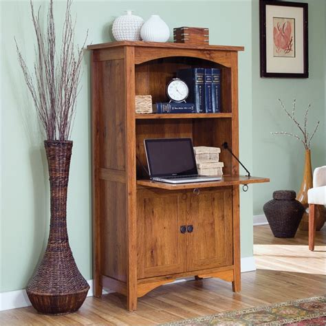 sauder valley laptop oak computer armoire ebay