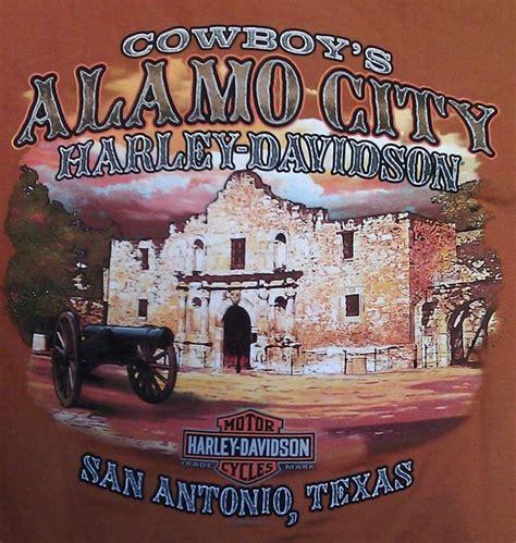 Alamo Harley Davidson alamo city san antonio harley davidson t shirts
