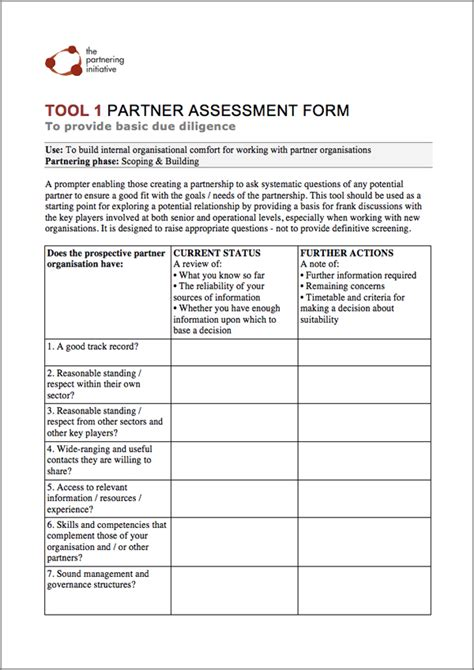 Business Partner Agreement Template the zambia partnering toolbook zambia business in