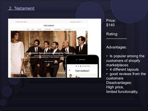 shopify themes comparison comparison review of 10 shopify website themes