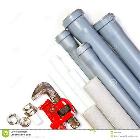 White S Plumbing Supply by Plumbing Supplies Stock Images Image 34028694