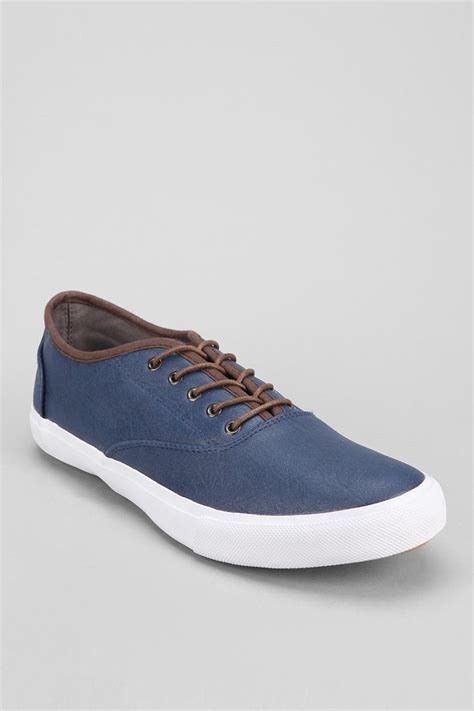 outfitters mens sneakers outfitters leather cvo sneakers in blue for