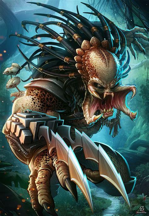 vs predator the predator by patrickbrown deviantart on deviantart