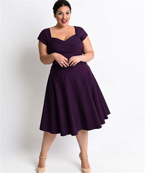 vintage style plus size dresses fashionably petticoats