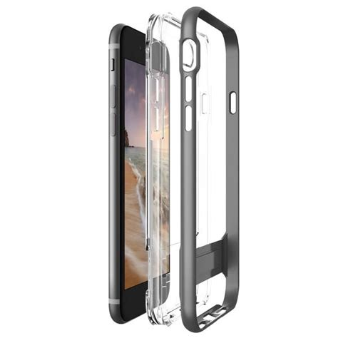 Verus Bumper For Iphone 7 Light Silver Perak verus bumper skal till apple iphone 8 7 steel silver themobilestore