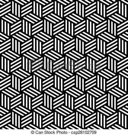 background pattern drawings vector clipart of abstract isometric 3d cube pattern