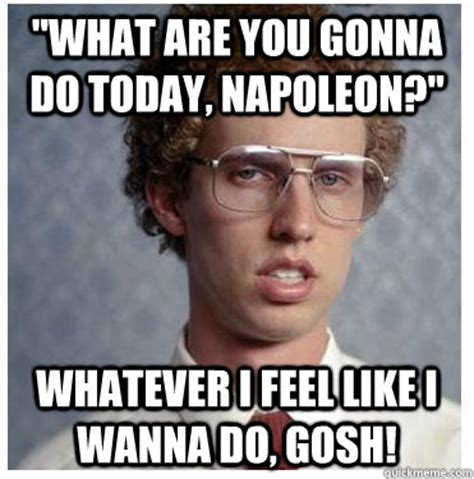 What You Gonna Do Meme - happy birthday napoleon dynamite memes