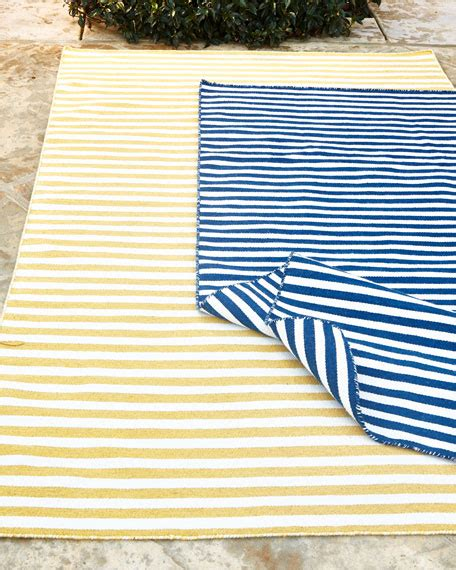 Horchow Outdoor Rugs Quot Hideaway Stripe Quot Indoor Horchow Outdoor Rugs