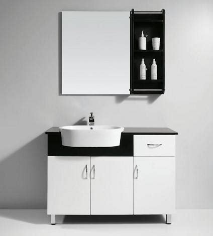White Modern Bathroom Vanity Homethangs Introduces A Tip Sheet On Black And White Bathroom Vanities For A High Contrast