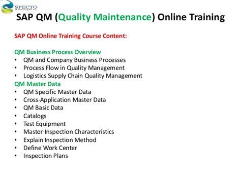 sap qm tutorial pdf sap qm online training in australia malaysia
