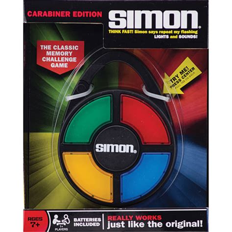 Simon Says St Gift Card - simon hand held game the learning tree