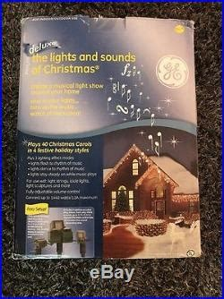 ge deluxe the lights and sounds of christmas plays 40