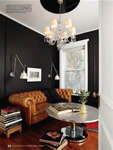 Rooms With Black Walls black rooms bfarhardesign