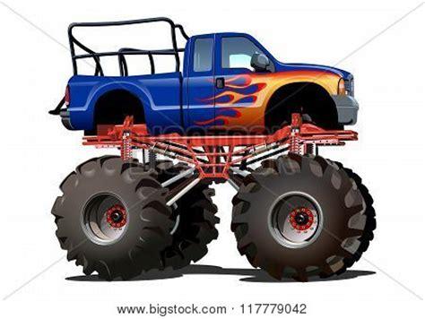 bigfoot monster truck cartoon bigfoot vectors stock photos illustrations bigstock