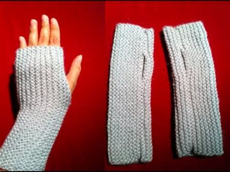 how to knit gloves with circular needles knitted fingerless gloves a and easy knitted