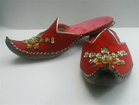 slippers heels vintage genie slippers turkish harem shoes curled toe