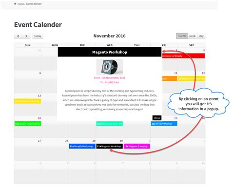 Calendar Sell Woocommerce Events Plugin Events Calendar View Sell Tickets