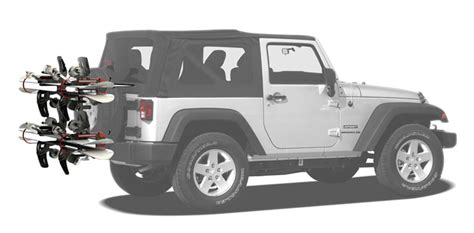 Ski Rack For Jeep Wrangler Jeep Wrangler Snow Board Rack