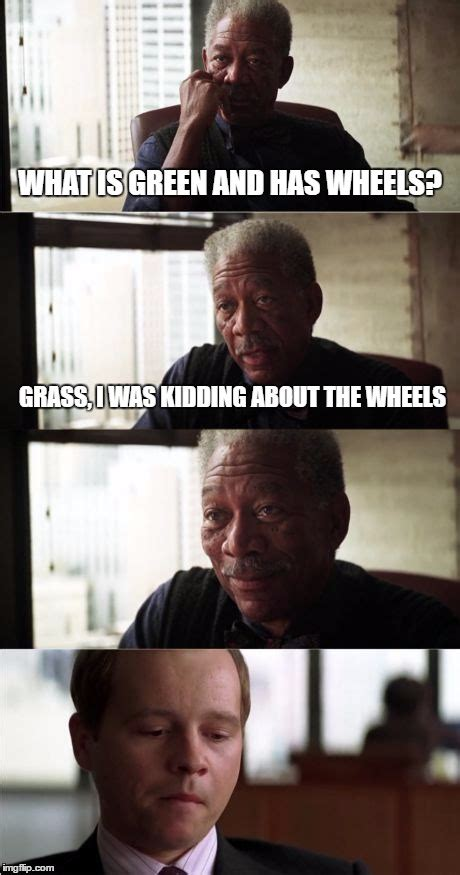 Good Shit Meme - morgan freeman good luck memes imgflip