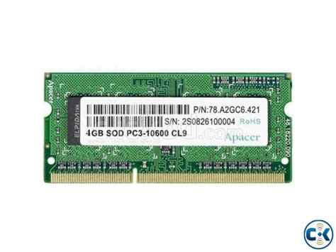 ddr3l ram price apacer 4gb ddr3l 1600 notebook ram clickbd
