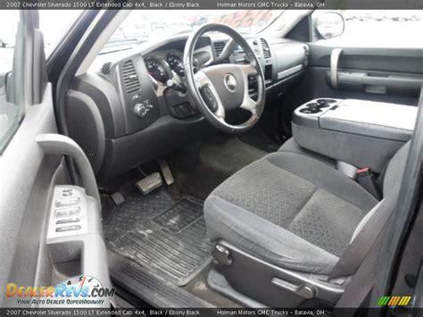 2007 Chevy Silverado Interior by Black Interior 2007 Chevrolet Silverado 1500 Lt
