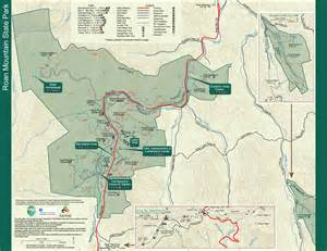 state parks cing map roan mountain state park tennessee state parks