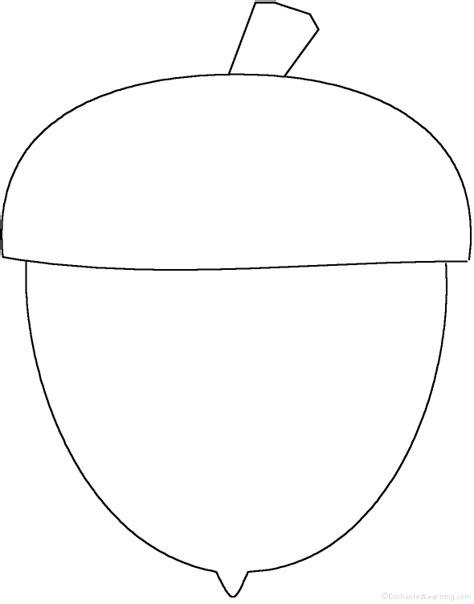 acorn template acorn perimeter poem printable worksheet