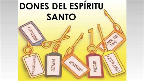 imagenes de los 7 dones del espiritu santo los siete dones del espritu santo youtube los siete