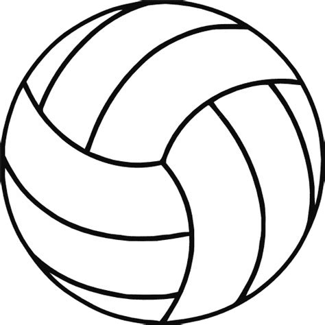clipart volleyball free printable volleyball clip art shape collage