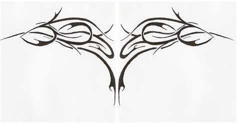 tribal wing tattoo tribal wings by phaerielike on deviantart