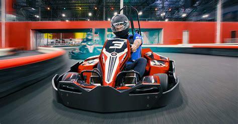 5712 Handfat Karet Racing Orange k1 speed indoor go kart racing anaheim
