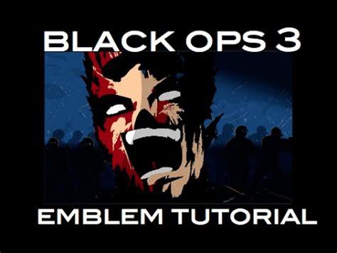 zombie emblem tutorial black ops 3 emblem tutorial zombie flesh emblem youtube
