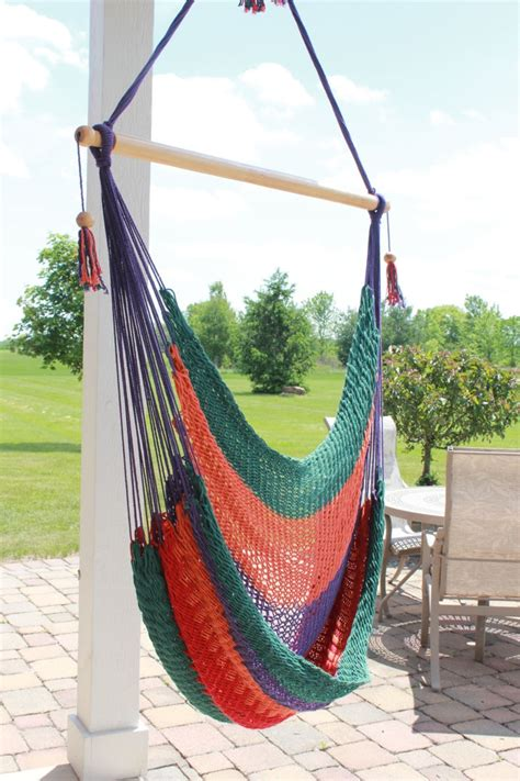 swing hammock nicaraguan multi color hammock swing chair