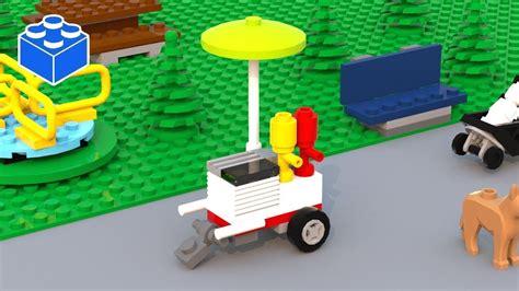 lego dog tutorial custom lego hot dog stand moc lego hot dog cart