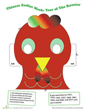 printable chinese new year animal masks search results for new year printable masks calendar 2015